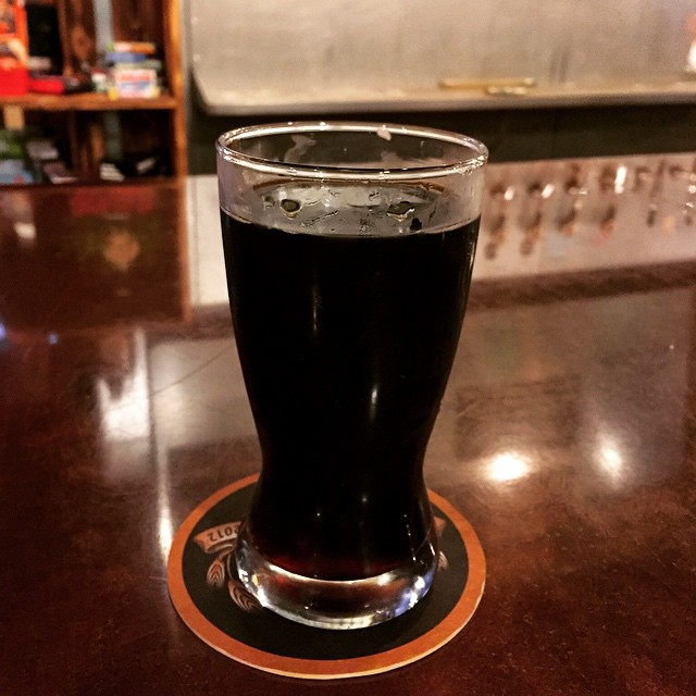 #kvpinmybelly Horchata Stout at @belchingbeaver in #SanDiego North Park. NOM! #beer