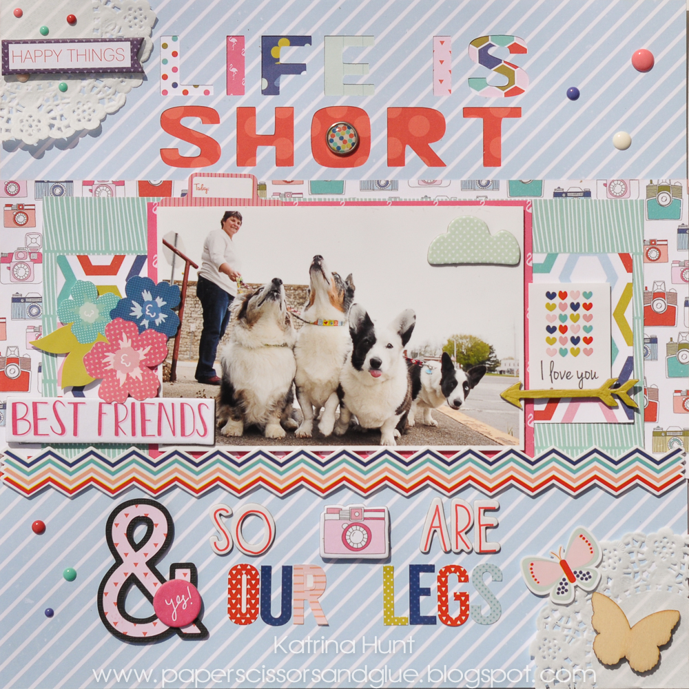 Life_Is_Short_Scrapbook_Page_Katrina_Hunt_Echo_Park_Silhouette_Cameo_1000Signed-1