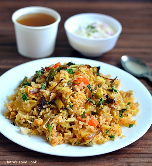 Mughlai vegetable biryani recipeveg layer biryani recipe sunday mughlai vegetable biryani recipe forumfinder Choice Image