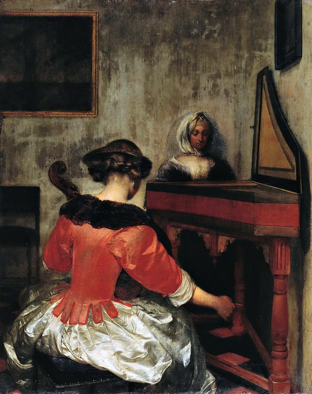 Gerard ter Borch - The Concert (c.1675)
