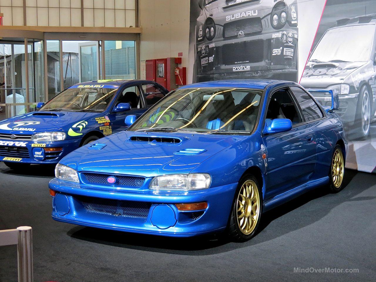 NYIAS 2015 Subaru Impreza STi 22B