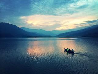 Pokhara, Nepal.