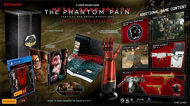Metal Gear Solid V Collectors Edition