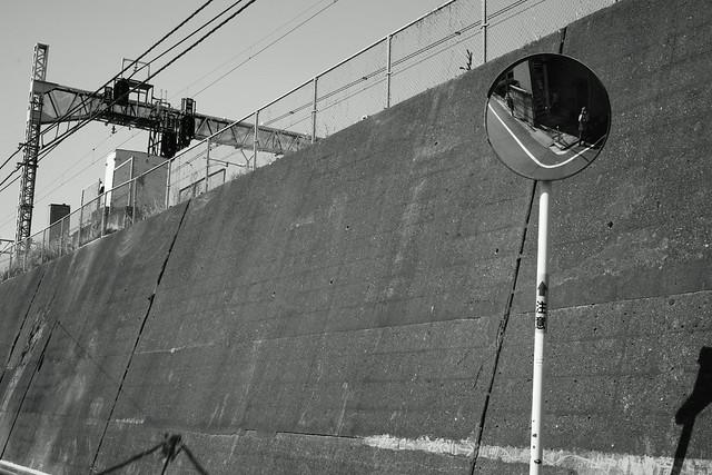 常磐線沿い、東日暮里 - Higashi-Nippori Tokyo, 17 Mar 2015. 092