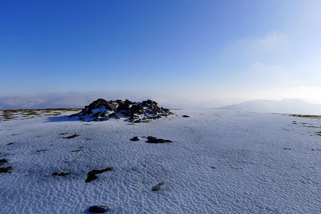Summit of Sgurr a'Chaorachain