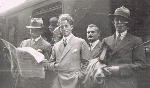 Men at the Station