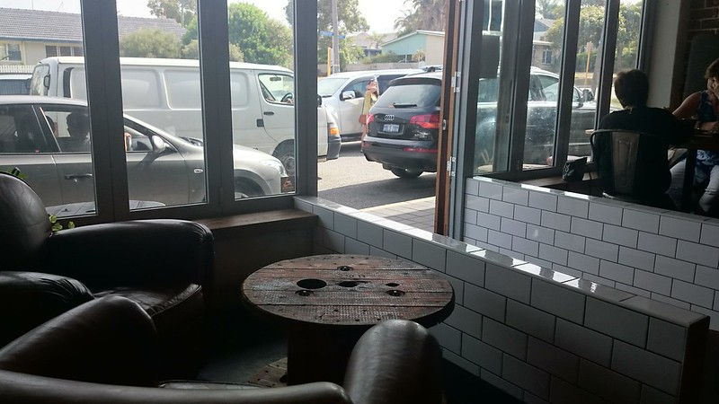 The Hardware Store Cafe & Eatery Scarborough | Brunch Review Agent Mystery Case Window view