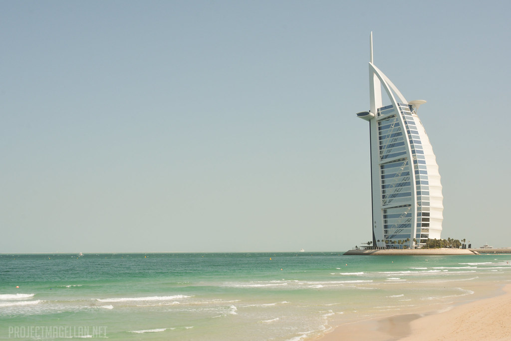 Burj Al Arab, United Arab Emirates, UAE, Jumeirah Beach, Dubai