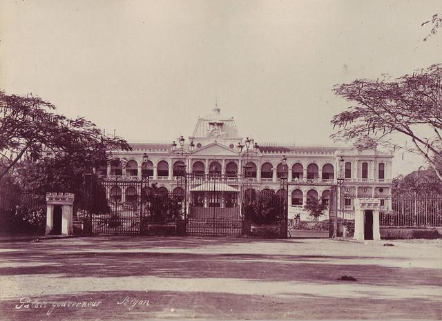 SAIGON ca 1880-90 by Dieulefils - Palais du Gouverneur