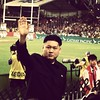 The leader of North Korea makes a surprise appearance at the #hk7s   No gout in evidence.