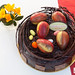 Large (7-inch) Chocolate Nest Egg Cake