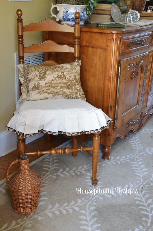 Chair Slipcover/Foyer-Housepitality Designs