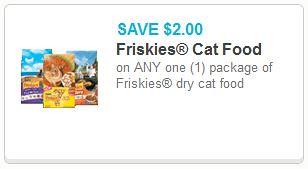 Dry Cat Food Coupon