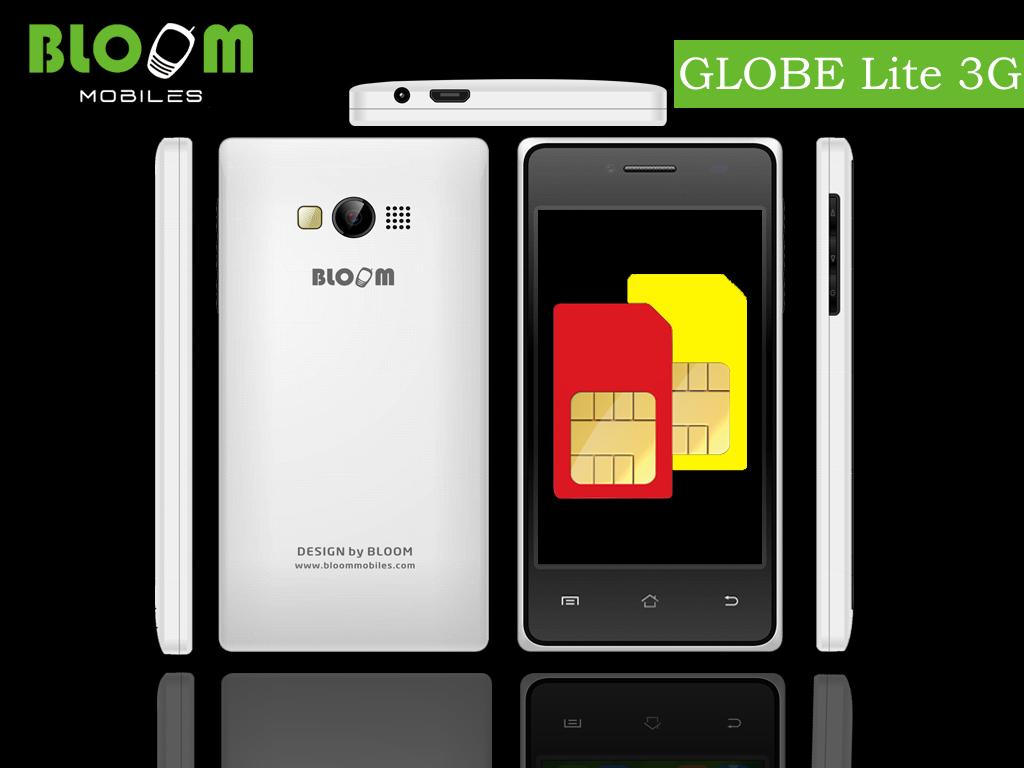 Bloom Smartphone GLOBE Lite 3G