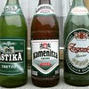 Retro beer bottles