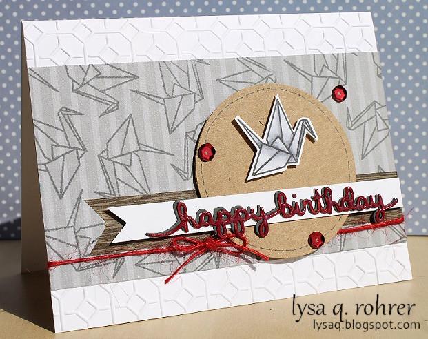 Origami Birthday