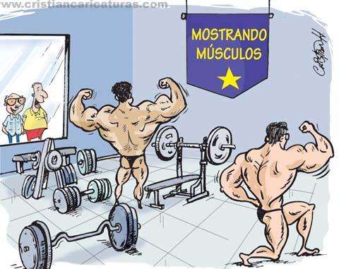 Sacando músculos