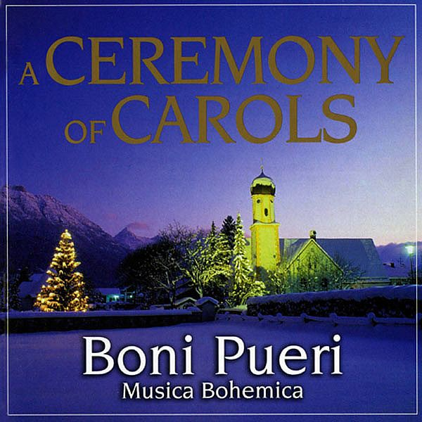 Header of a ceremony of carols