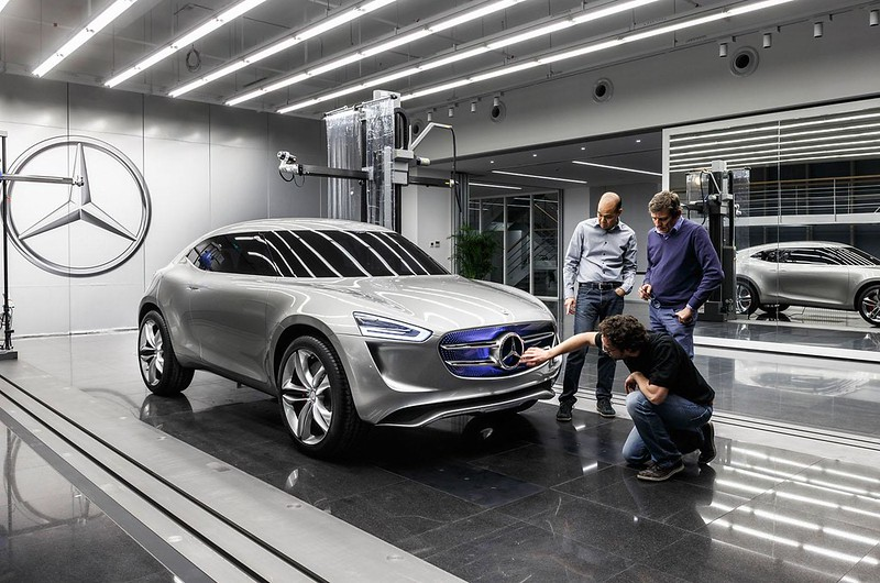 Кроссовер Mercedes-Benz G-Code