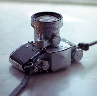 Camera from 1950s - Exakta