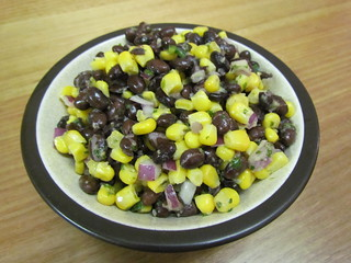 Black Bean and Corn Salad with Cilantro Dressing