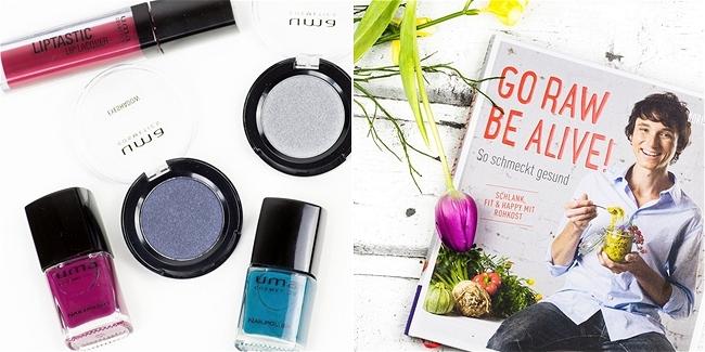 Instagram, Monatsrückblick März, uma cosmetics, Boris Lauser, Go Raw - be alive!