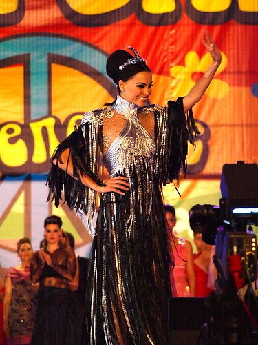 Former carnaval Queen, Santa Cruz