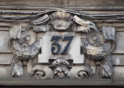 Modest 37 in ornate surroundings
