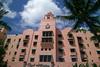Royal Hawaiian Hotel - courtyard view