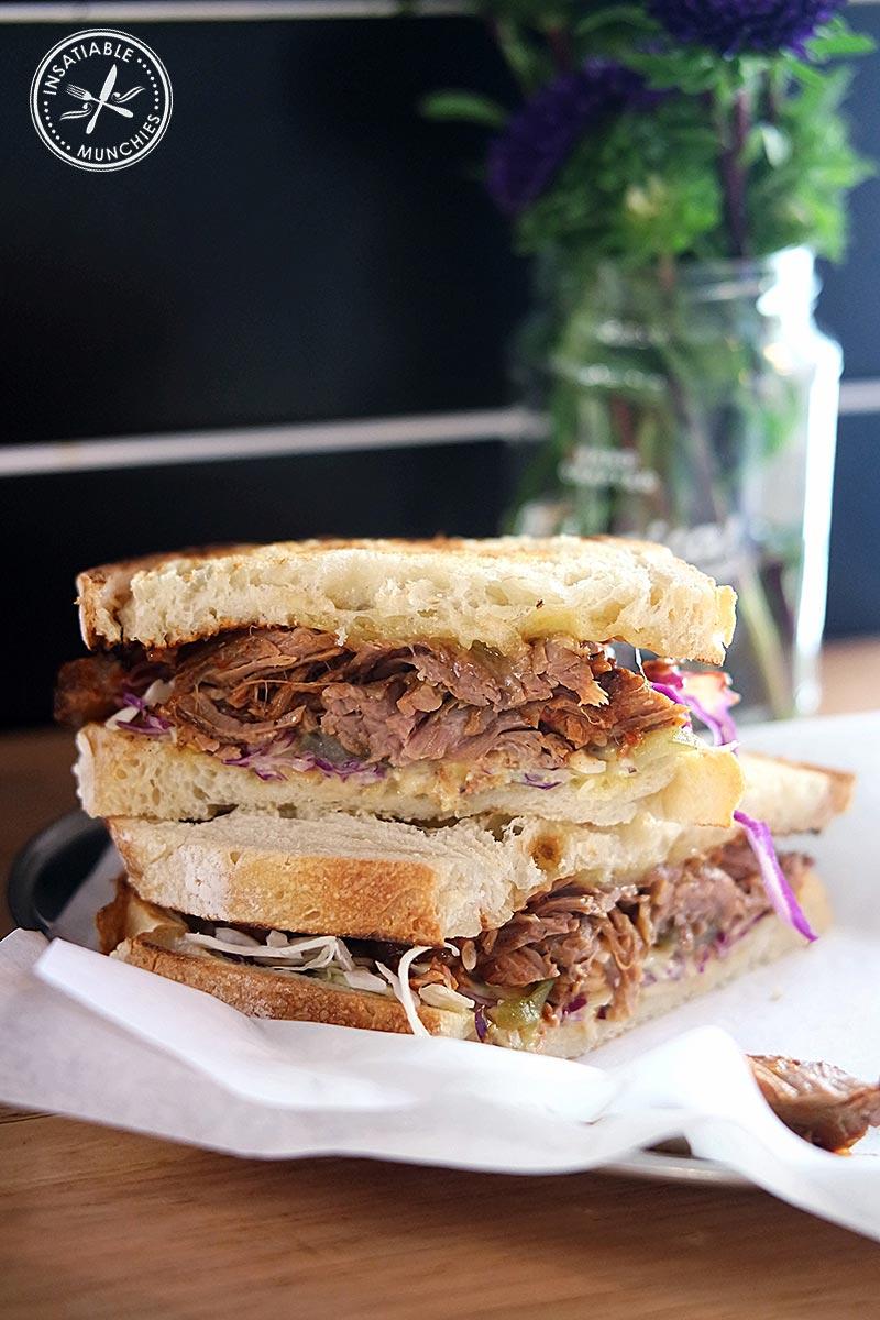 Beef Brisket Sandwich, $13