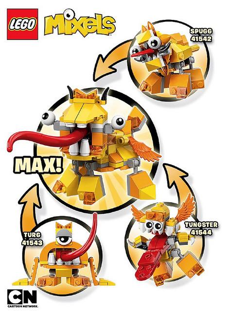 LEGO Mixels Series 5 Lixers