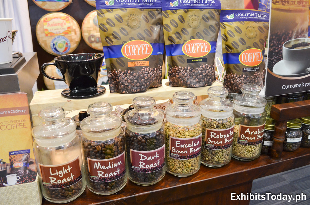 Coffee products from the CALABARZON region