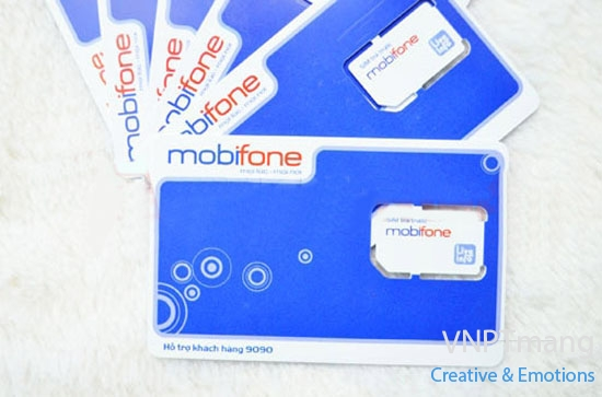 Sim 3g Mobifone khuyến mãi 30 Gb/tháng