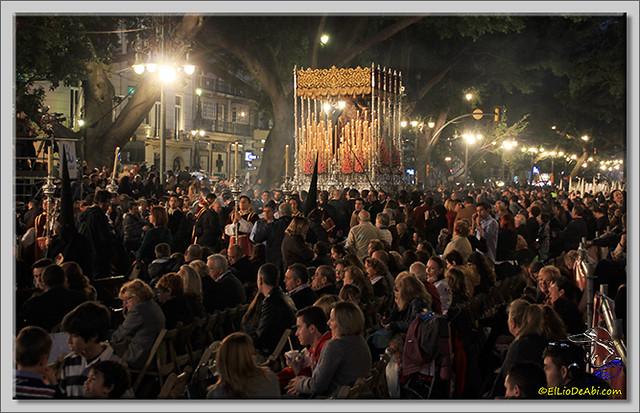 Semana Santa en Málaga. La Alameda y Calle Larios (2)