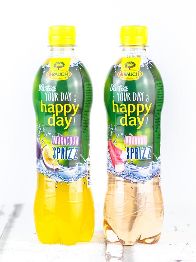 Degustabox April 2015, Degustabox Gewinnspiel, Rauch Happy Day