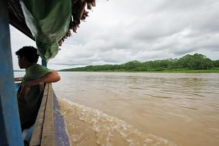 Auf dem Weg zum Camp am Yanayacu, Amazonas | Roland Krinner