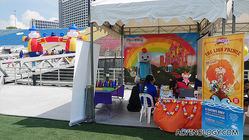 Kiddy booth