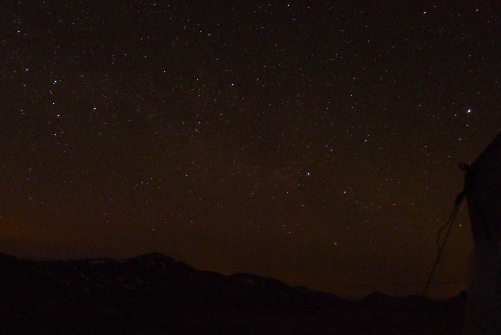 The Milky Way over Beinn Bhuidhe