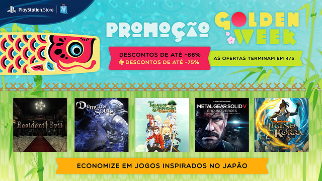 Golden Week Sale in Brasil