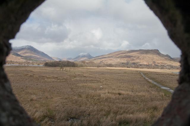 Lochawe cannon-hole