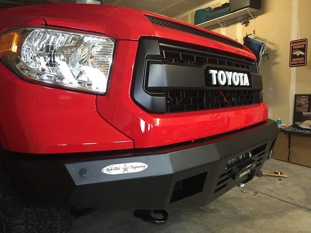 RSE Front Bumper TCT Explorer 2015 Tundra CrewMax Toyota Truck