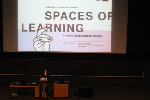 AIGA Spaces of Learning conference, April 16–18, 2015.