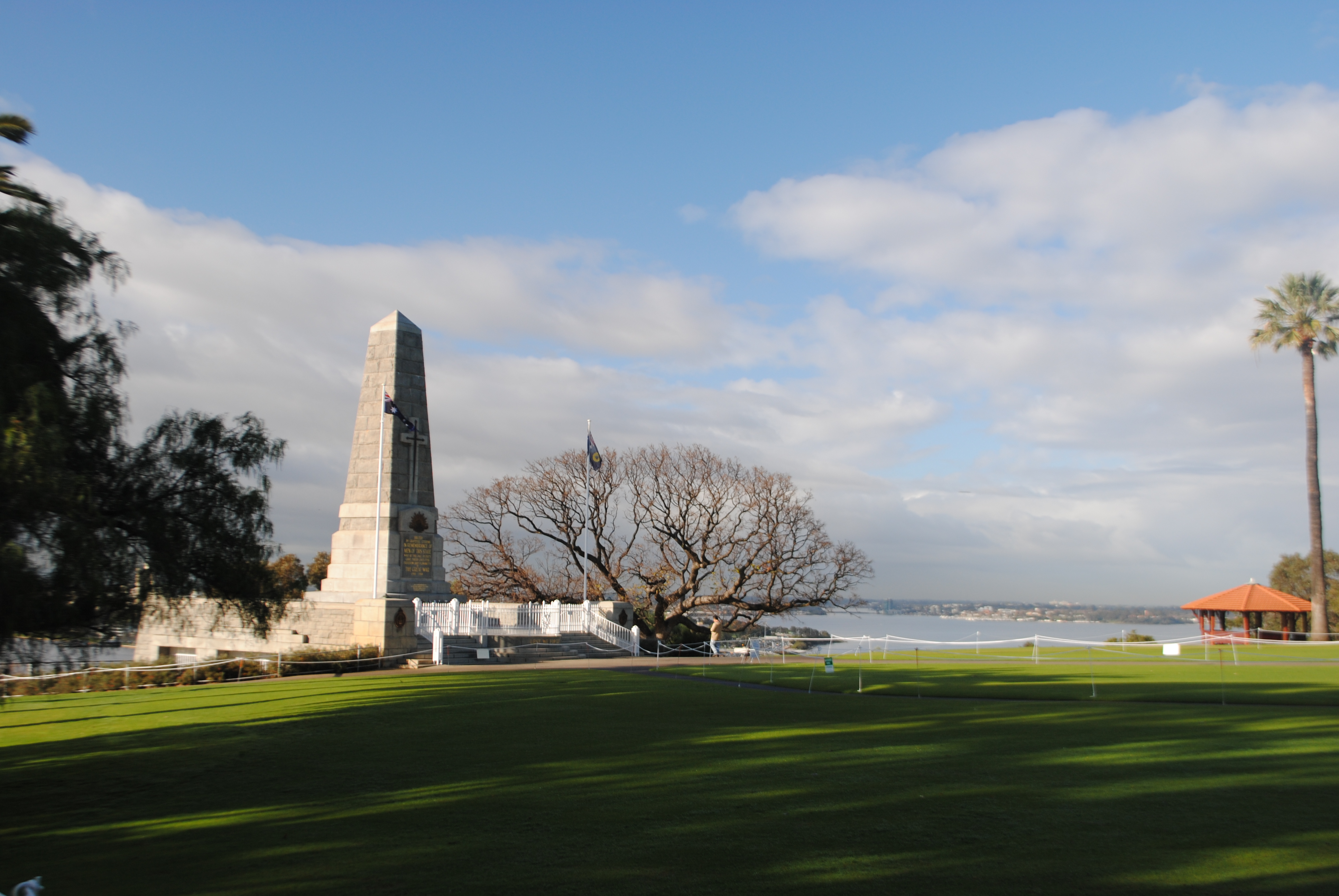 Visit Kings Park - spectacular views over Perth skyline, Swan River and Melville Water