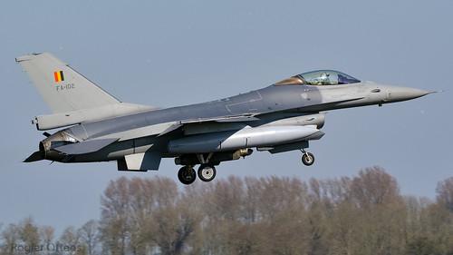 belgië f16falcon fa102