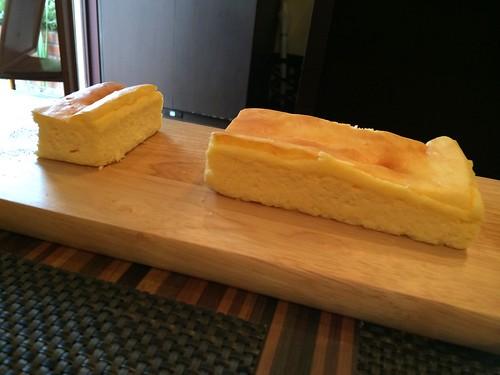 デザートその2のチーズケーキスフレ@エテ
