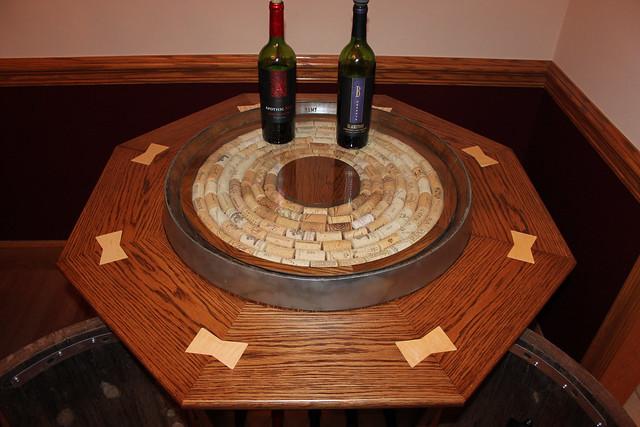 Wine Barrel Cabinet Thehomesteadingboards Com