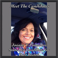 """Meet The Candidates: Joanne T. Pomodoro. Here is my latest interview. Not only is Joanne a 24/7 Social """"Change Agent"""" Worker but a life-long resident of East Boston. To watch this Youtube and learn more about her campaign, go to www.princesdailyjournal.co"""
