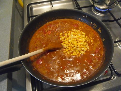 Add corn