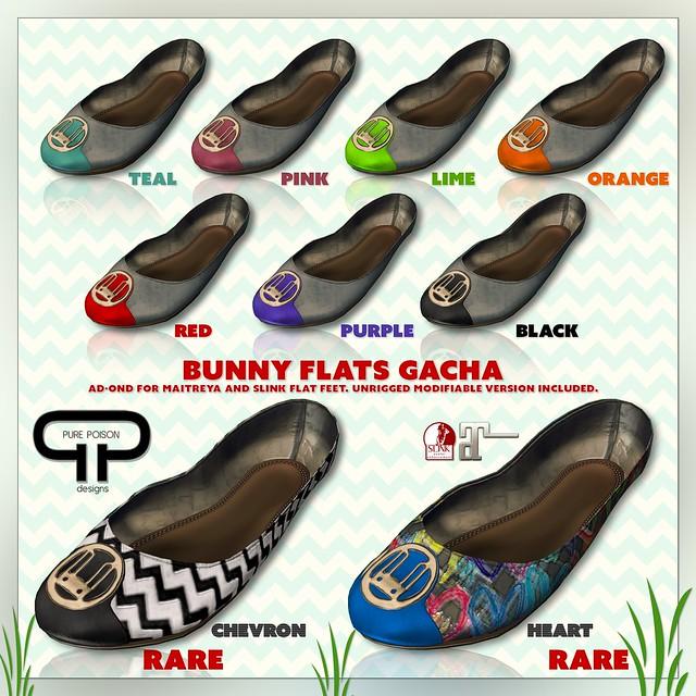 Pure Poison - Bunny Flats GACHA