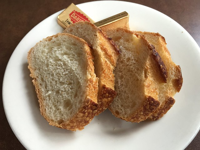 Sourdough bread and butter - Capurro's Restaurant